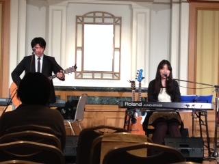 今日は東京の聖会